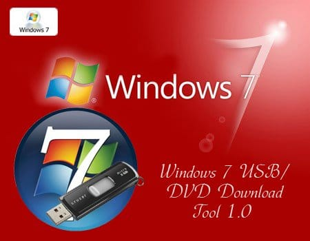 Windows 7 usbdvd download tool